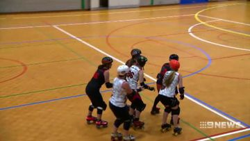 Darwin women hoping to take roller derby to the Olympics