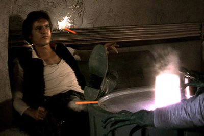 The 'Han shot first' debacle continues to be one of the most controversially-altered scenes of the entire franchise. Why would Lucas re-edit an entire scene, just so that Greedo's character gets to shoot Han Solo first? It just doesn't make sense and completely alters Han Solo's character development.