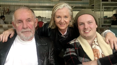 Anna's father is in palliative care in Victoria after suffering a serious stroke.