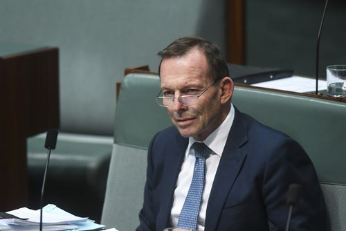 Former prime minister Tony Abbott has reserved the right to cross the floor on the NEG.