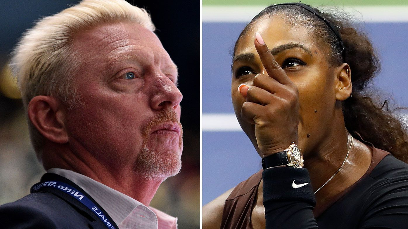 Borris Becker backs in-game coaching such was the point of contention for Serena Williams in the 2018 US Open
