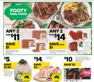 Woolworths has so much variety and when it comes to barbeque food items, they have outdone themselves.