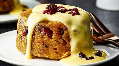 """<p>'Tis the season and no Christmas feast is complete without pudding, whether you steam, boil or freeze it. So here is our wrap of the best puddings - from classic to ice-cream - because it's just not Christmas until the pudding is served&nbsp;<a href=""""http://kitchen.nine.com.au/2016/05/04/15/40/bourbon-cranberry-and-white-chocolate-christmas-pudding"""" target=""""_top"""" draggable=""""false"""">Bourbon, cranberry and white chocolate Christmas pudding</a>&nbsp;recipe.</p>"""