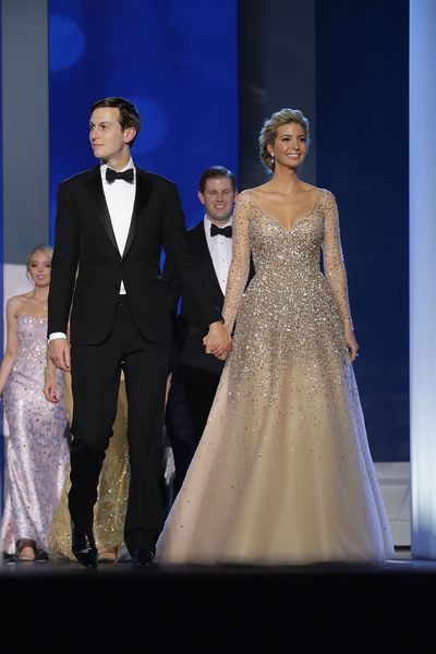 Ivanka Trump, first daughter to the United States of America, and husband Jared Kushner, who will take on an advisory role with the government wowed the crowd at the Inaugural Ball.