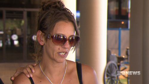 Denishar's mother Lacey Harrison was also shocked. (9NEWS)
