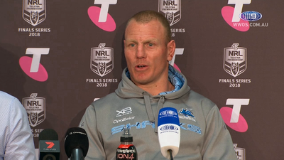 Retiring Cronulla Sharks legend Luke Lewis felt 'hollow' after tough NRL finals loss