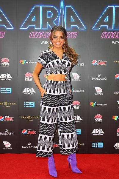Tayla Maeat the 2017 ARIA Awards