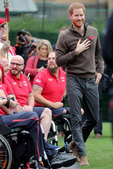 Prince Harry Invictus Games 2020 Team GB launch 6