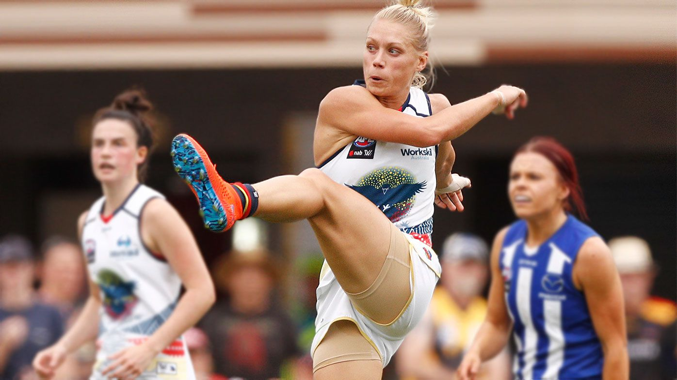 AFLW star Erin Phillips calls for action against social media trolls
