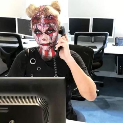The Sweaty Betty phone line waits for no man. Or woman. Or Halloween ghoul as the gorgeous Grace Garrick is discovering.