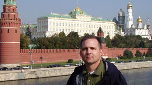 Paul Whelan visited Moscow in 2006 while on leave from the Marine Corps.