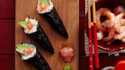"<a href=""http://kitchen.nine.com.au/2016/05/16/16/03/sushi-hand-rolls"" target=""_top"">Sushi hand rolls<br> </a>"