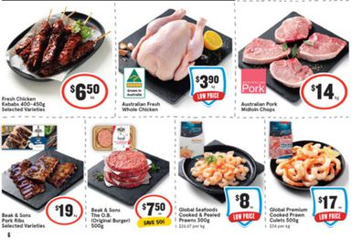 IGA has some great choices for tasty barbeque additions.
