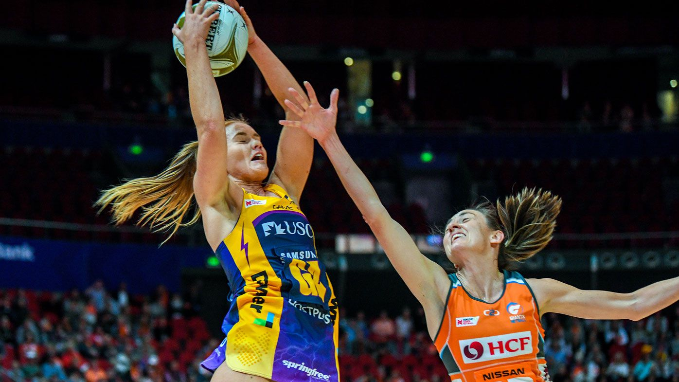 Sunshine Coast Lightning downs GWS Giants into Super Netball grand final