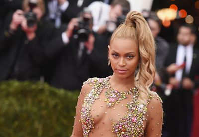 Beyoncé at the Costume Institute Benefit Gala at the Metropolitan Museum of Art in New York on May 4, 2015