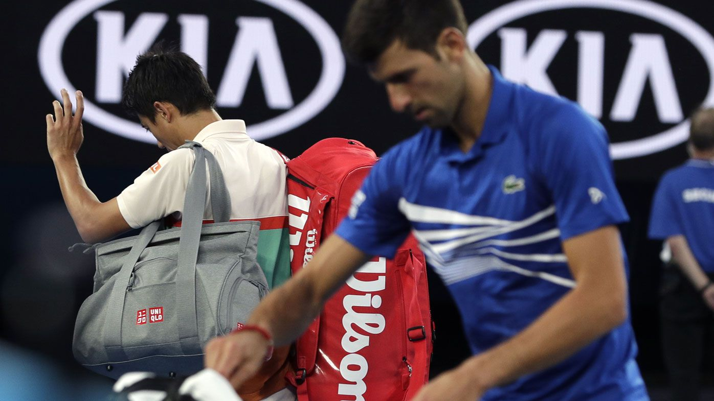 Australian Open 2019: John McEnroe blasts Kei Nishikori over Novak Djokovic QF retirement