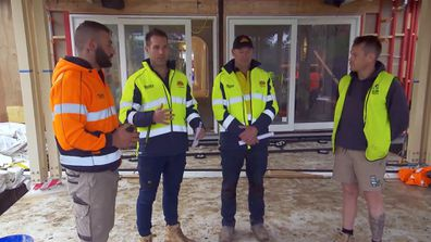 Landscaper Jayson assures Keith and Dan he will stick to their plan as Backyard Week kicks off on The Block 2021