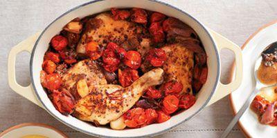 """Recipe:&nbsp;<a href=""""http://kitchen.nine.com.au/2016/05/19/15/13/chicken-arrabiata"""" target=""""_top"""">Chicken Arrabiata<br /> <br /> </a>"""