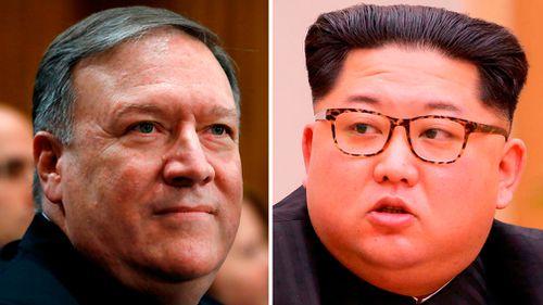 CIA director and Kim Jong Un met in secret last week. (AAP)