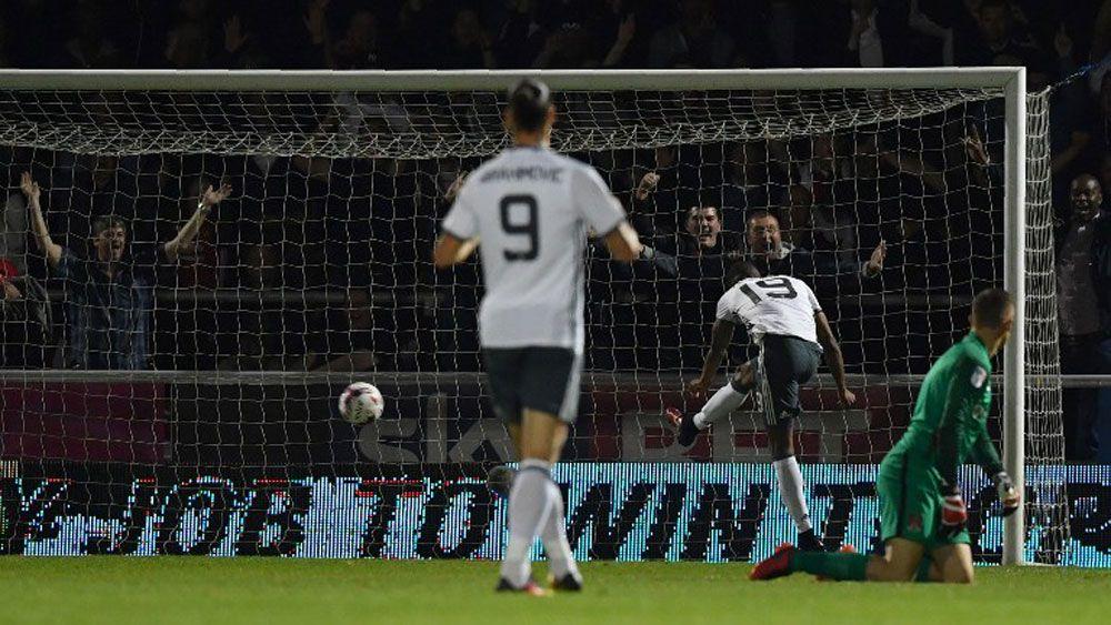 Mourinho hails 'positive' Man Utd effort