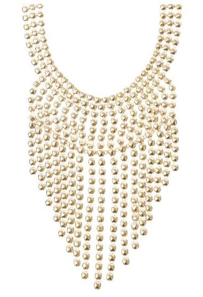 "<a href=""https://www.lovisa.com.au/statement-gold-cascade-necklace"" target=""_blank"">Lovisa</a> statement gold cacade necklace, $39.99<br />"