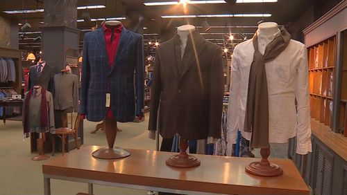 Utah Moolen Mills gives suits to homeless people to help boost their confidence during job interviews. (Source/ KSL.com)