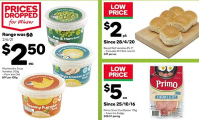 Woolworths specials June 30