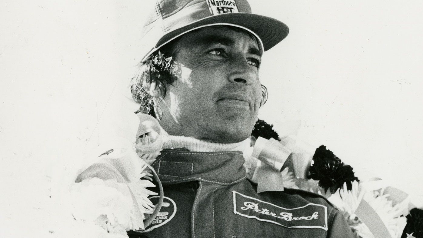 Peter Brock in 1978.