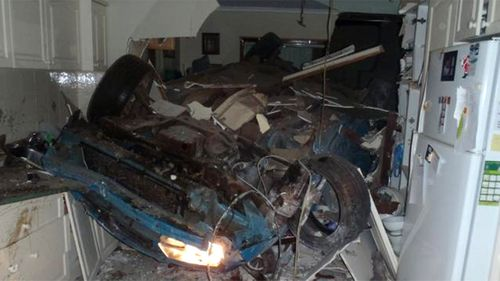 Farmer dies after smashing car into kitchen of WA home