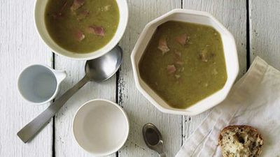 "<a href=""http://kitchen.nine.com.au/2016/05/17/13/01/pea-and-ham-soup"" target=""_top"">Pea and ham soup</a> recipe"