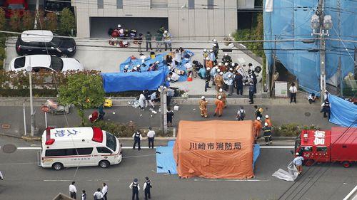 190528 Tokyo mass stabbing school children bus stop Kawasaki crime news Japan World