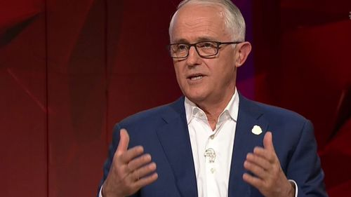 Malcolm Turnbull said he is 'out of politics' and now wants to focus on the business world.