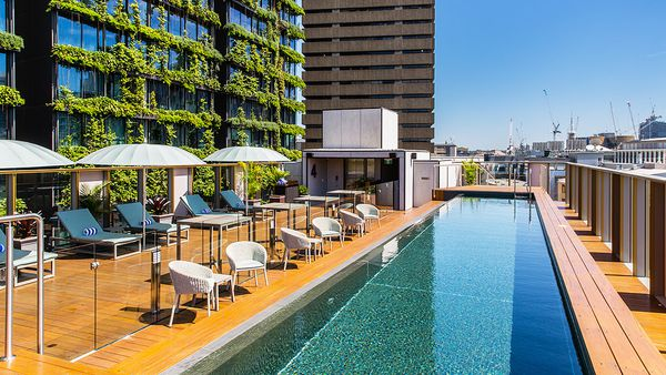 Old Clare Hotel rooftop pool (supplied)