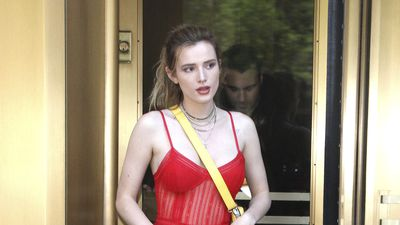 Bella Thorne rocks lingerie as outerwear