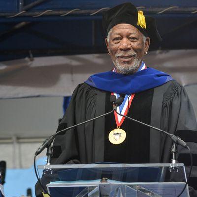 <p>Morgan Freeman</p>