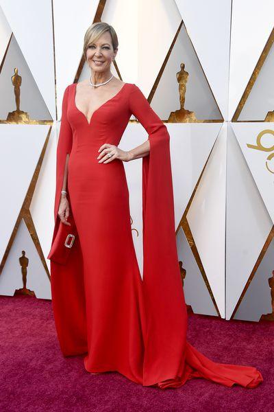 Actress Allison Janney inReem Acra