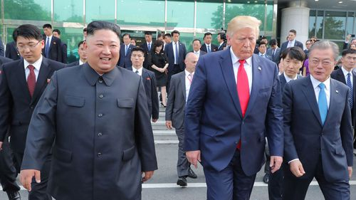 South Korea conveys Trump's birthday message to Kim Jong Un