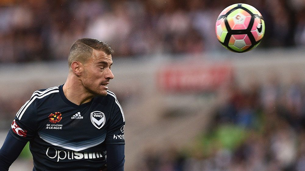 Melbourne Victory midfielder James Troisi. (AAP)