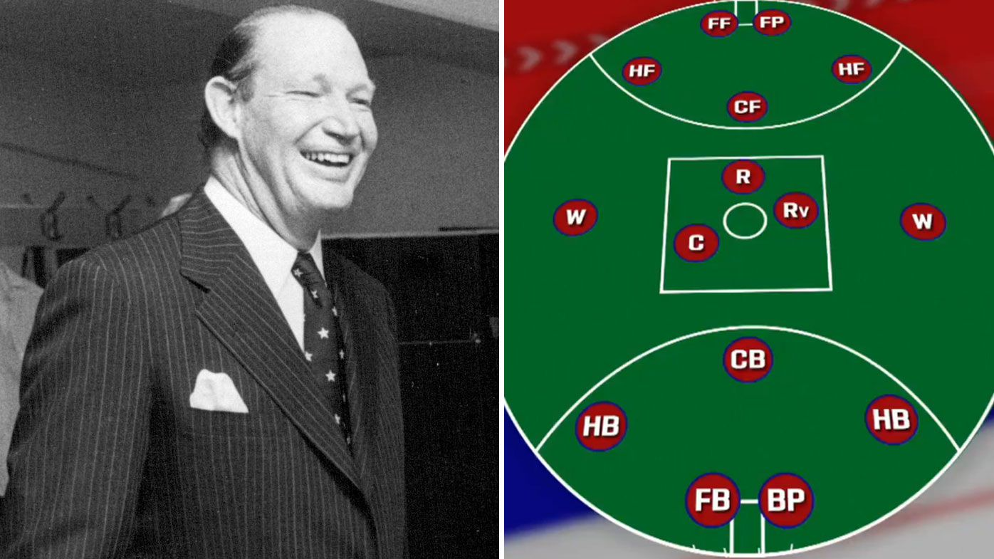 Kerry Packer had prompted the idea of 15-a-side AFL years ago.