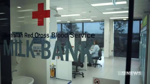 Red Cross is running the milk bank.
