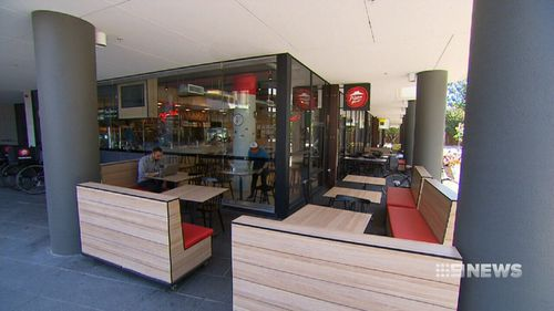 Pizza Hut's newly opened restaurant at Marsden Park in Sydney's west (9NEWS)