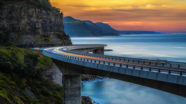 Sea Cliff Bridge Instagram NSW Australia