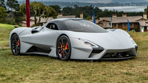Makers Shelby Supercars hope the vehicle's top speed will crack 480km/h.