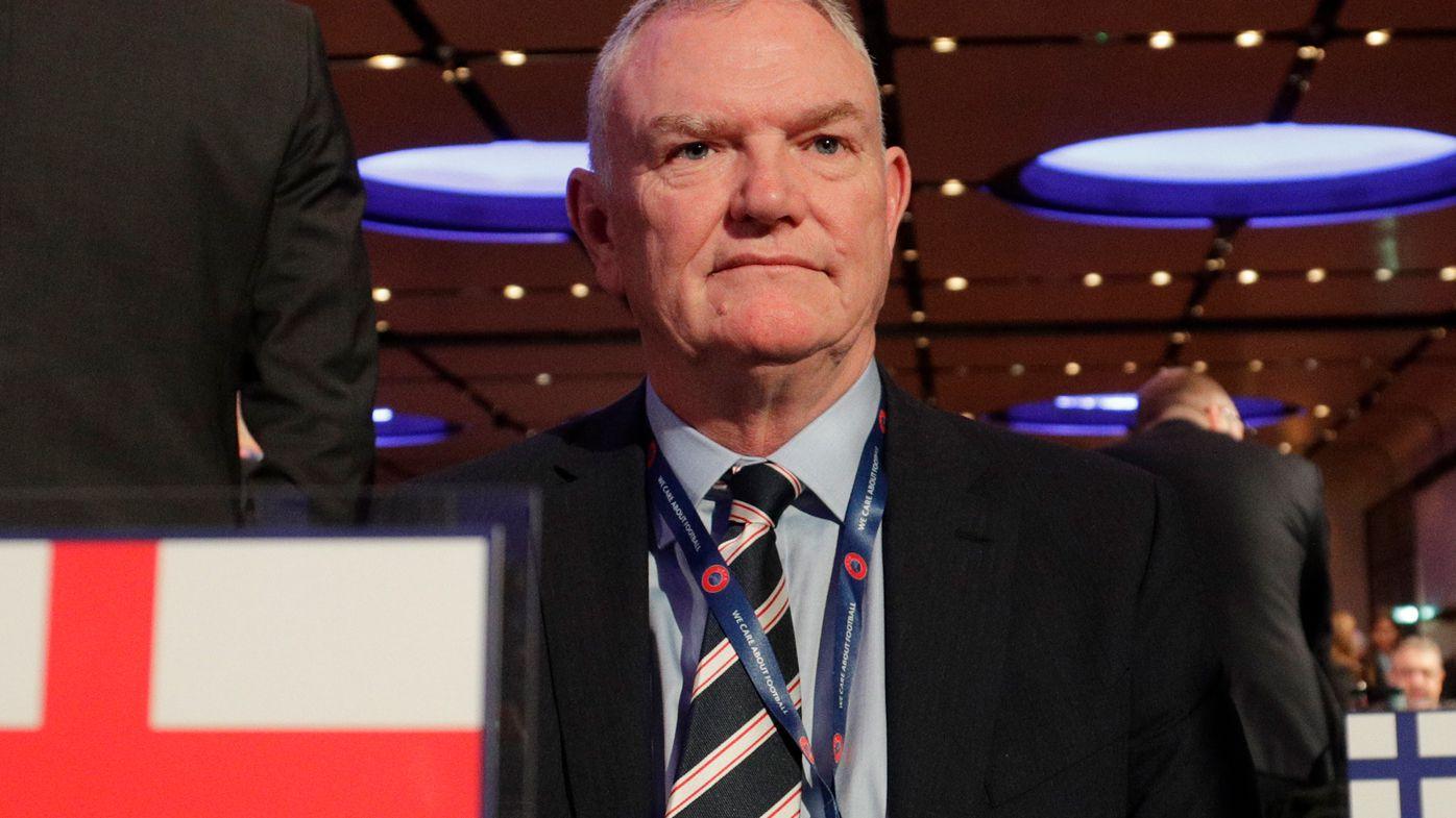 England's FA Chairman Greg Clarke
