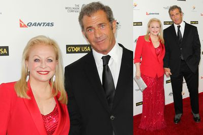 <i>Stoker</i> star Jacki Weaver and <i>Machete Kills</i> star Mel Gibson