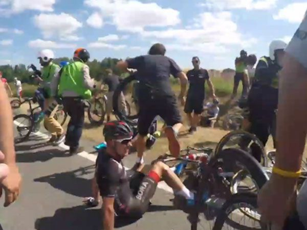 Inside the crash that helped stop the Tour