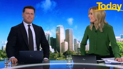 Today host Karl Stefanovic admitted he too has fallen victim to the 'sneaky' trick.