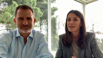 European royals in video message for Queen Margrethe - King Felipe Queen Letizia