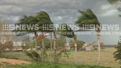 Queensland heatwave thunderstorms