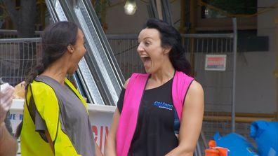 Bianca and Carla win the Domain walkarounds